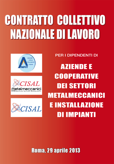 CCNL CISAL METALMECCANICI